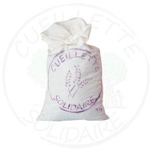 sac blanc de lavande en vrac cueillette solidaire grasse produit regionale grassois